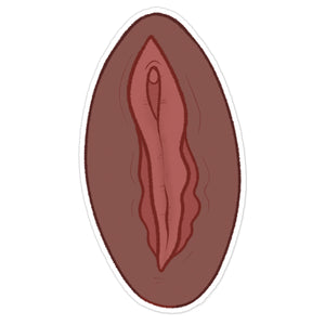 Vulva Vinyl Sticker