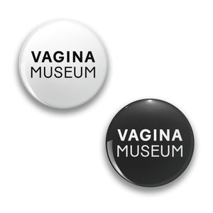 Vagina Museum Logo Badge