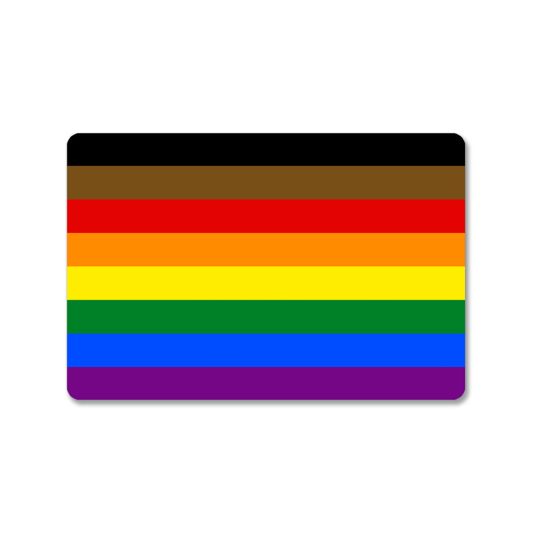 Philadelphia Pride Flag Sticker