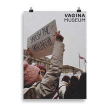 Load image into Gallery viewer, Smash The Patriarchy Poster
