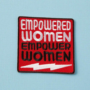 Empowered Women Embroidered Iron On Patch