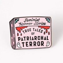Load image into Gallery viewer, Patriarchal Terror Enamel Pin