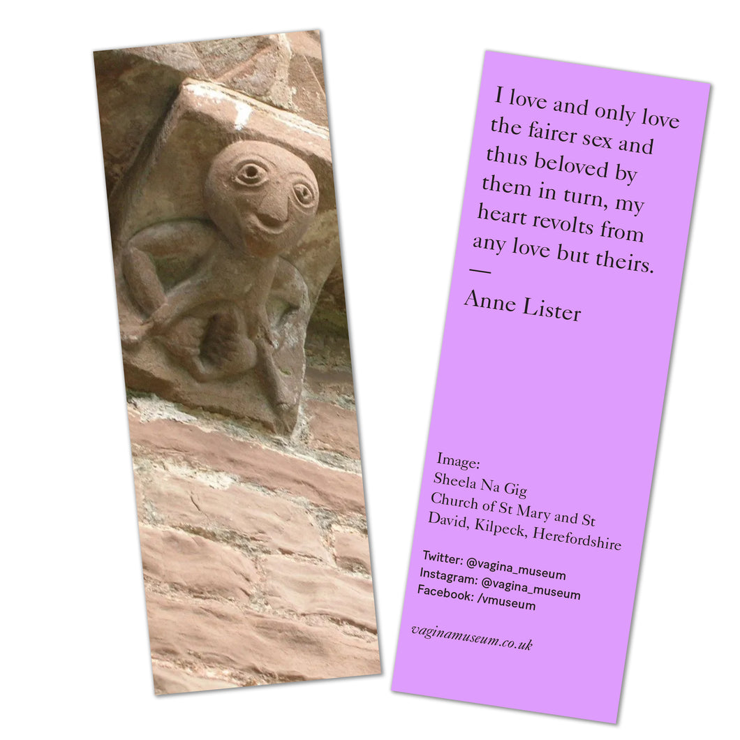 Sheela Na Gig Bookmark
