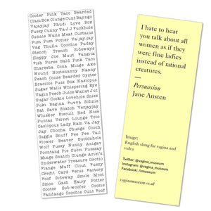 Slang Bookmark