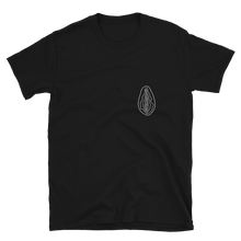 Load image into Gallery viewer, Black Vulva T Shirt