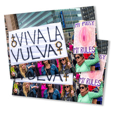 Load image into Gallery viewer, Viva La Vulva Postcard