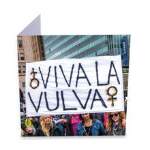 Load image into Gallery viewer, Viva La Vulva Greeting Card