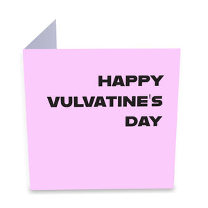Happy Vulvatine's Day Greeting Card