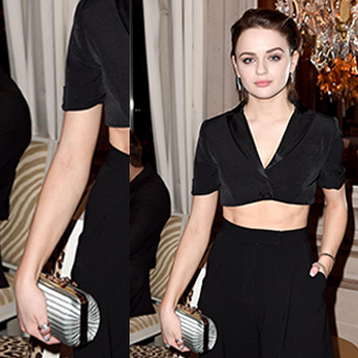 Joey King Wears OKHTEIN
