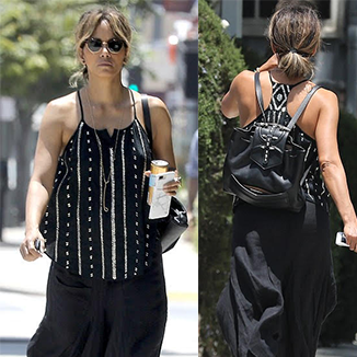 Halle Berry Wears OKHTEIN