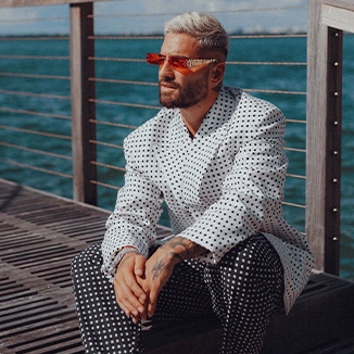 MALUMA first to rock Okhtein Eyewear