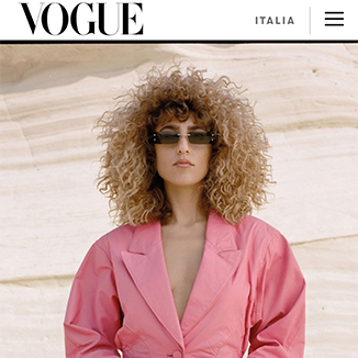 Okhtein's Feature on Vogue Italia