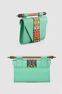 Okhtulum Clutch Leather Green
