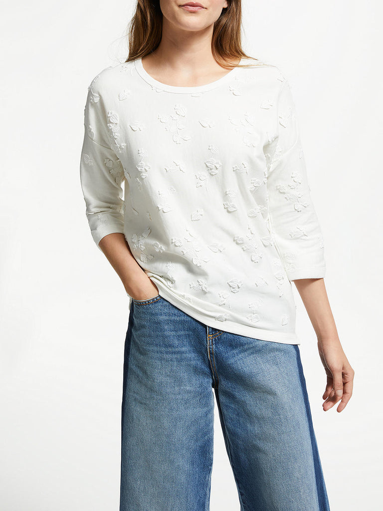Maison Scotch - Feminine Sweat - Denim White
