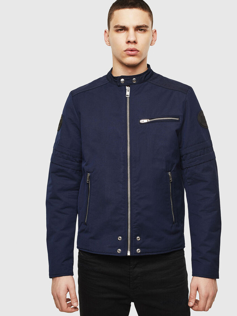 Diesel - J-Glory Biker Jacket - Dark Blue