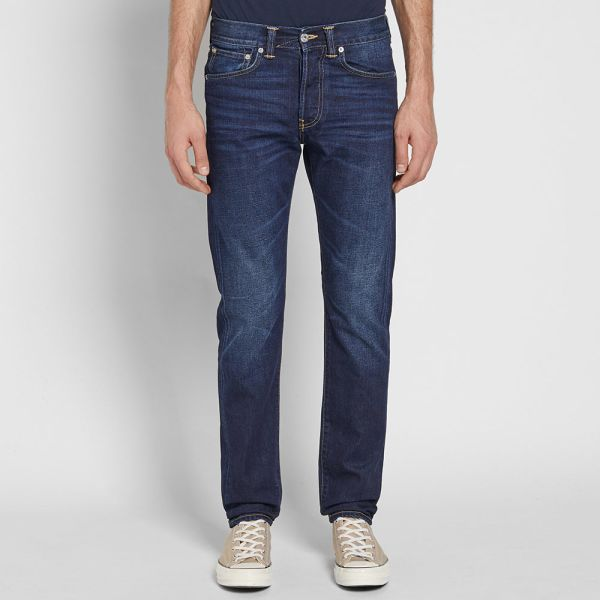 Edwin - ED-55 Regular Tapered Jean - Coal Wash