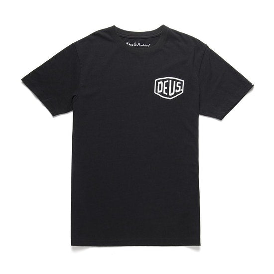 Deus - Milan Address Tee - Black