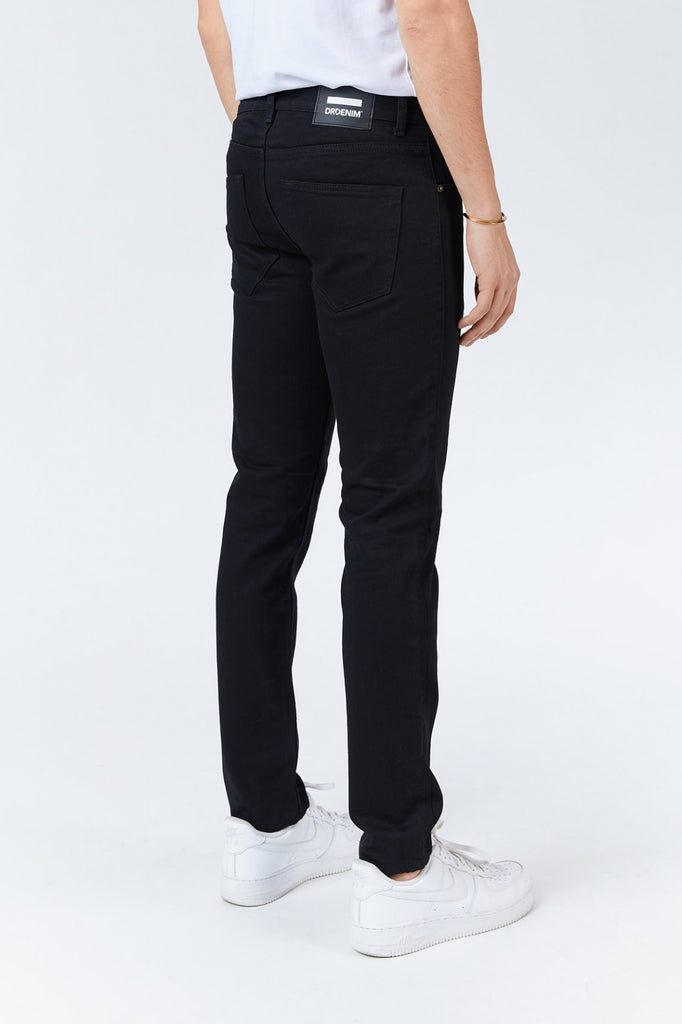 Dr Denim - Clark Jean - Solid Black