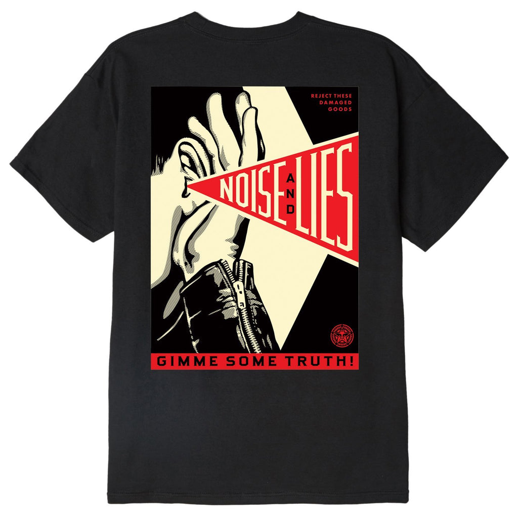 Obey - Gimme Some Truth Tee - Black