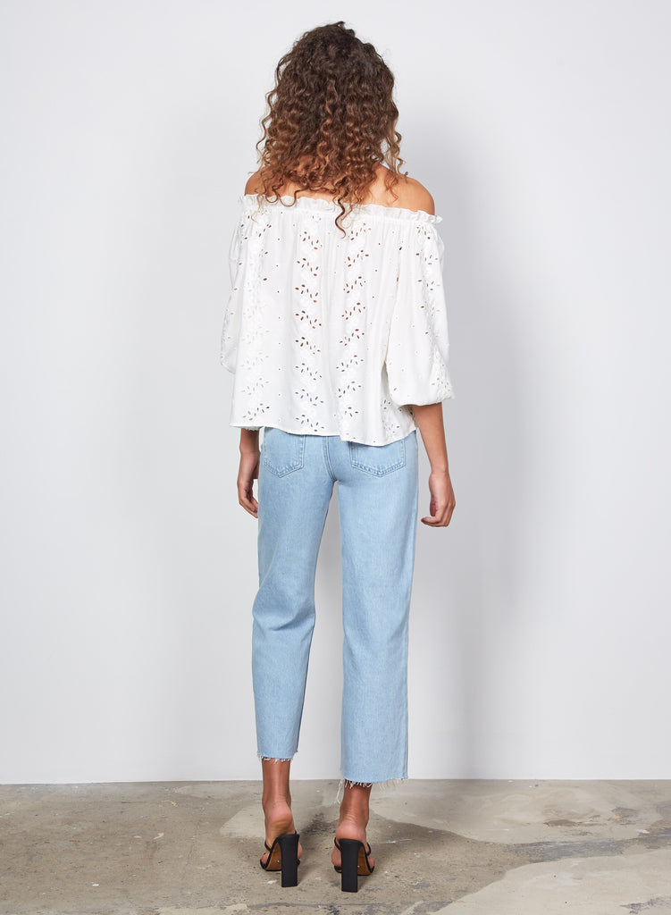 Wish - Skye Blouse - Ivory