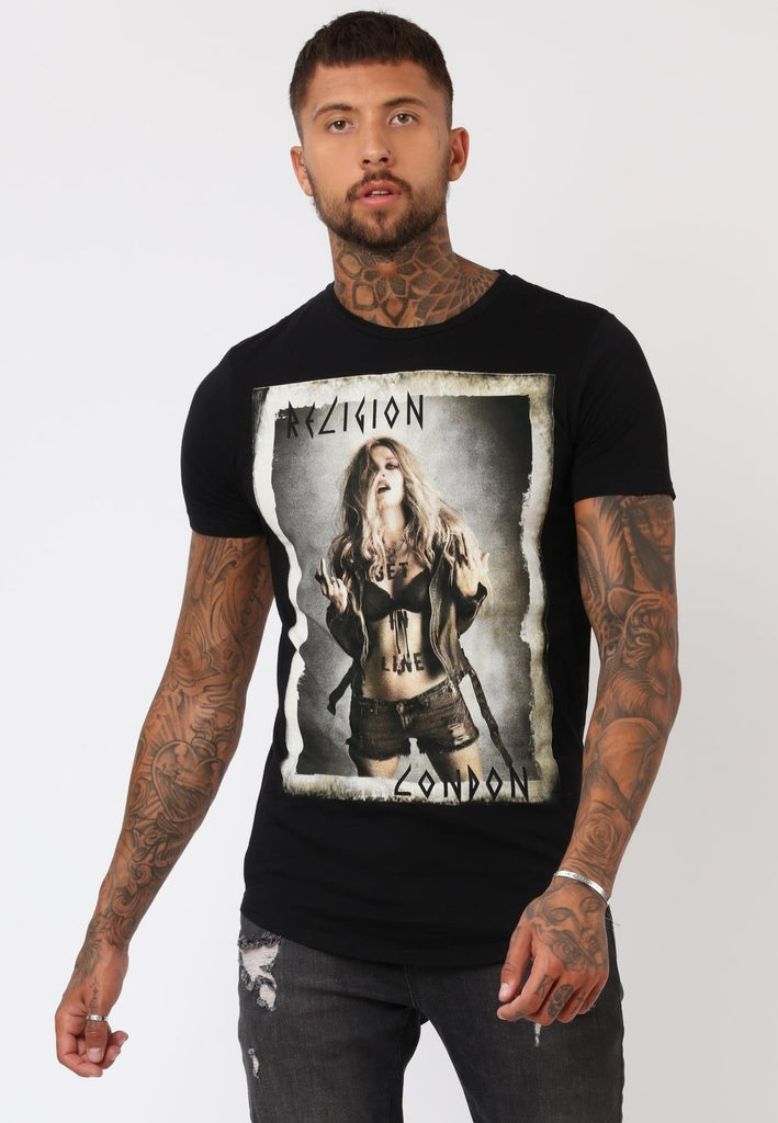 Religion - Get In Line Tee - Black