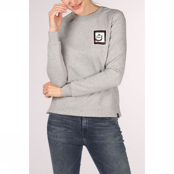 Maison Scotch - Colab Crew Neck - Grey Melange