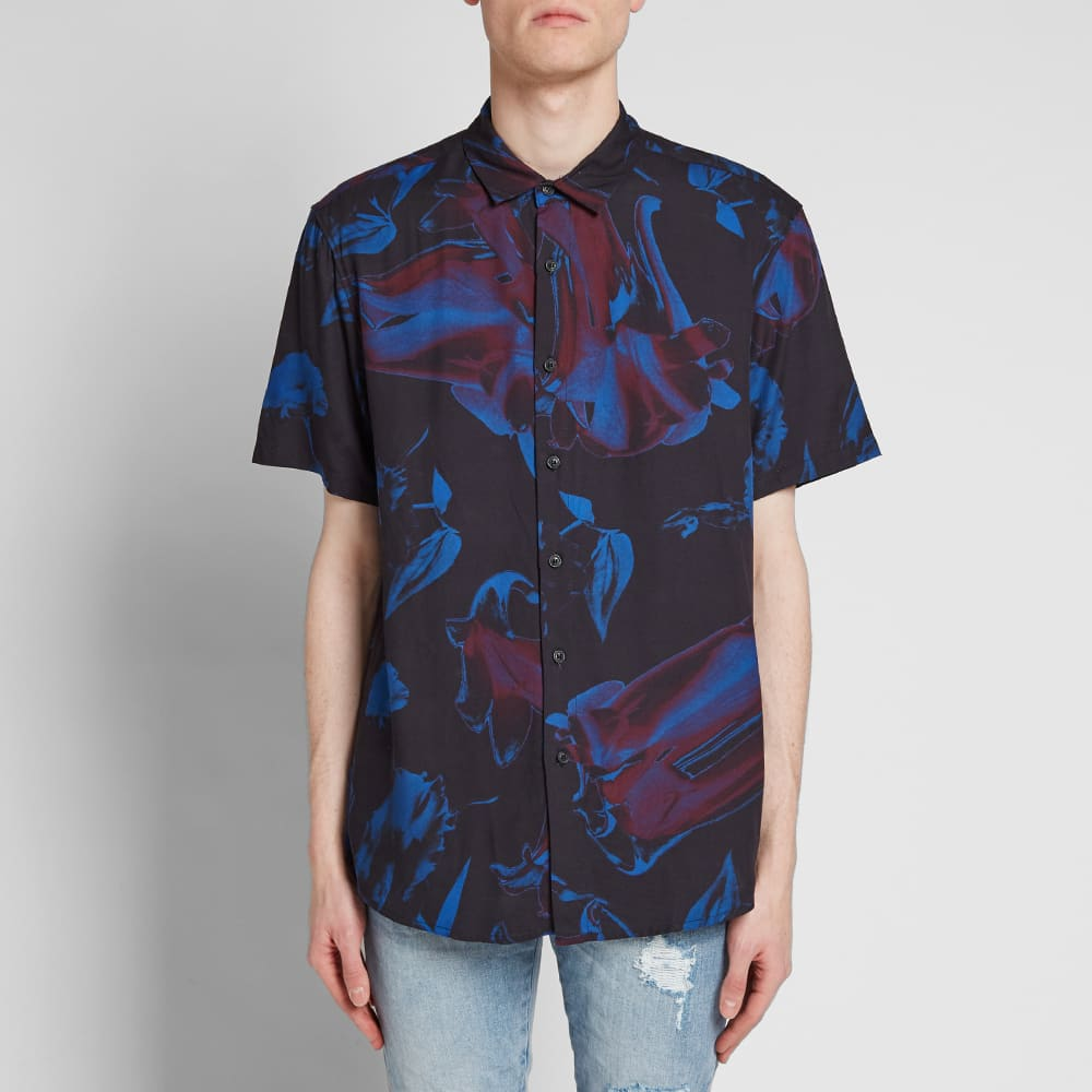Ksubi - Petrol Flower SS Shirt - Assorted