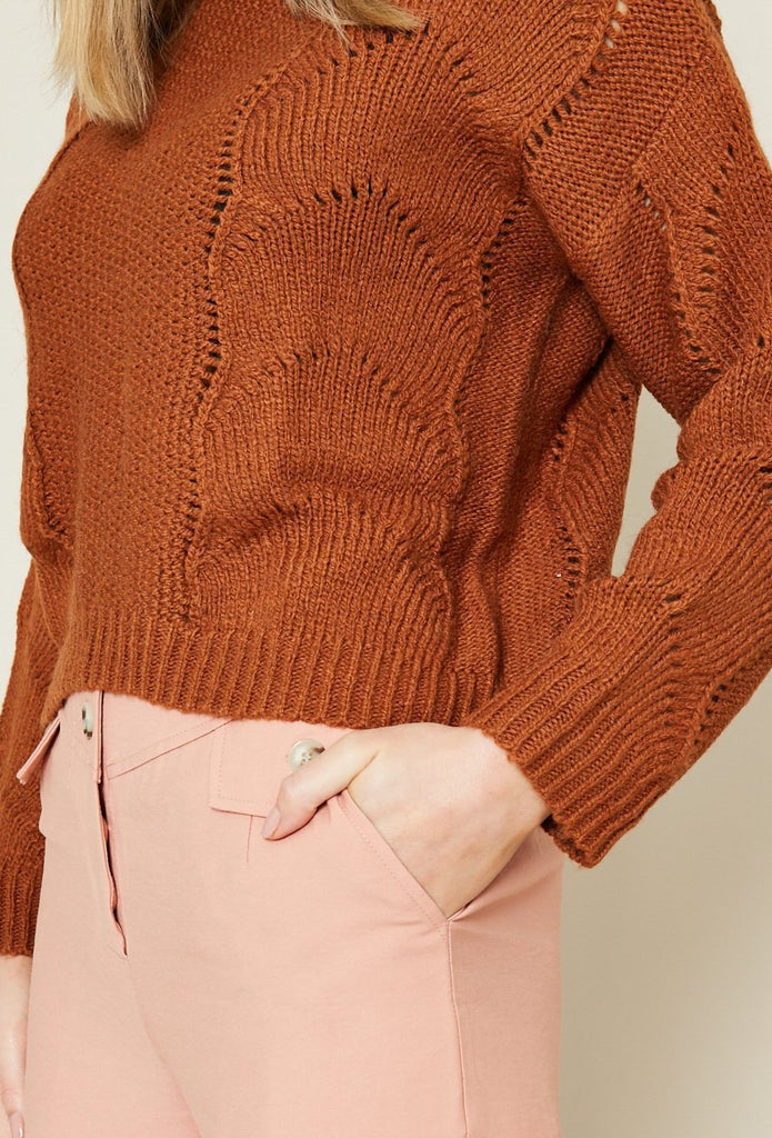 Native Youth - Ellery Knit - Brown