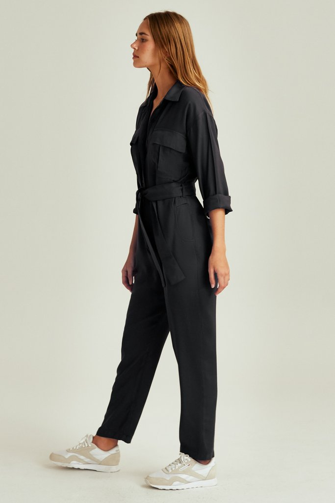 The Fifth Label - Wilderness Pantsuit - Espresso
