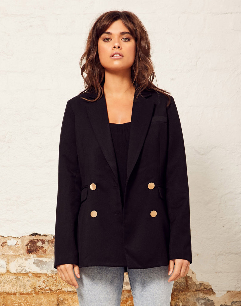 Wish - Peninsula Blazer - Black