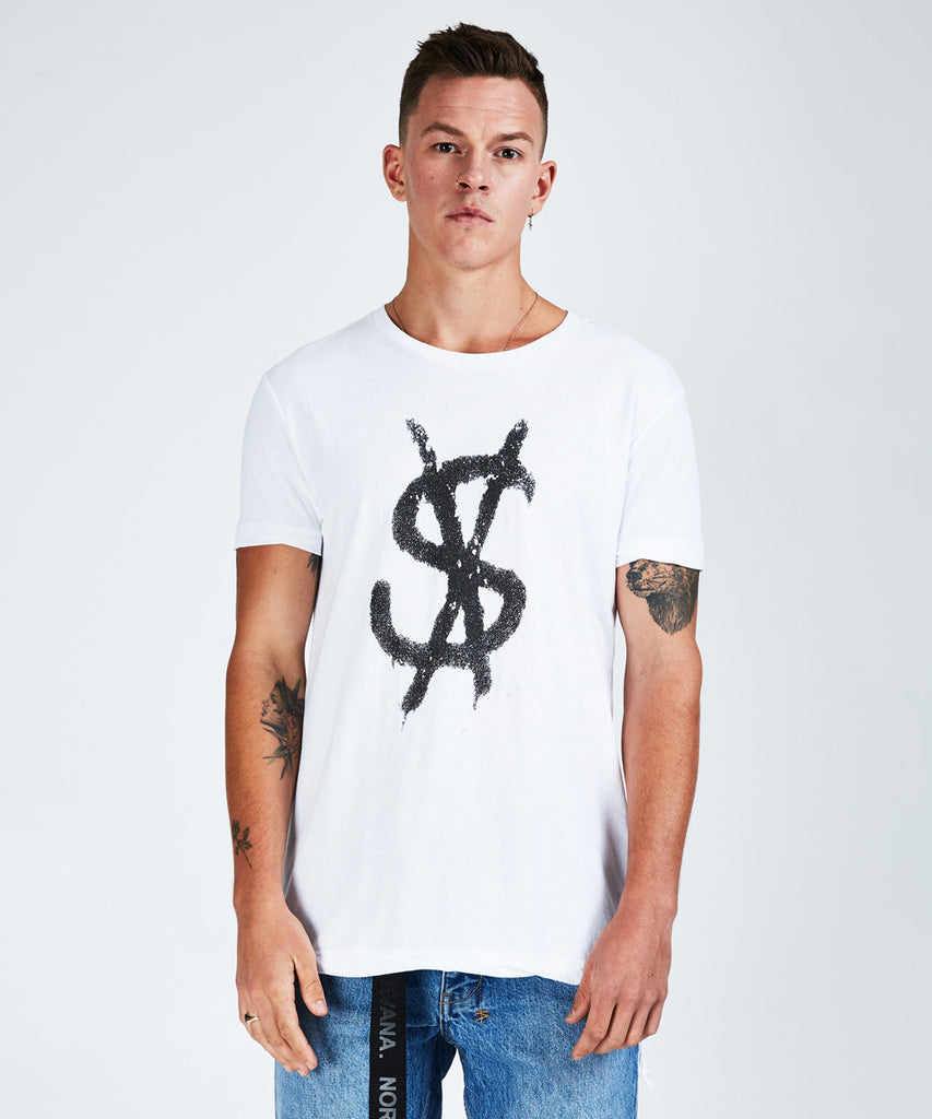 Ksubi - Spray Dollars SS Tee - White