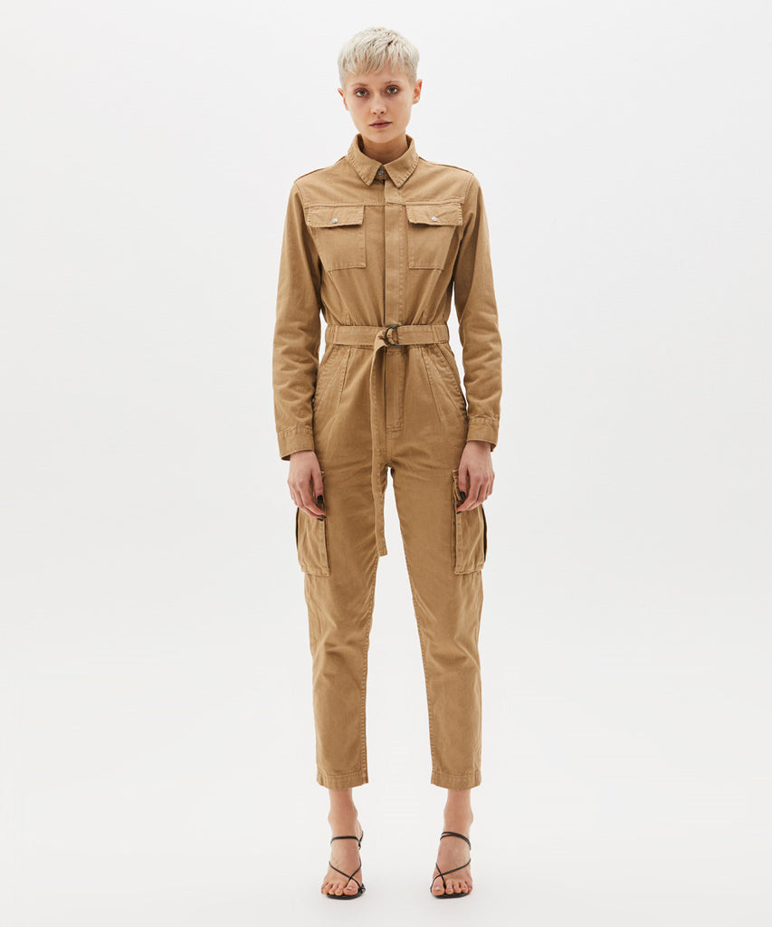 Ksubi - Feedback Boilersuit - Tan