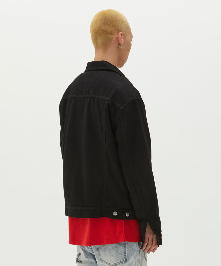Ksubi - Oh G Jacket - Tainted Black