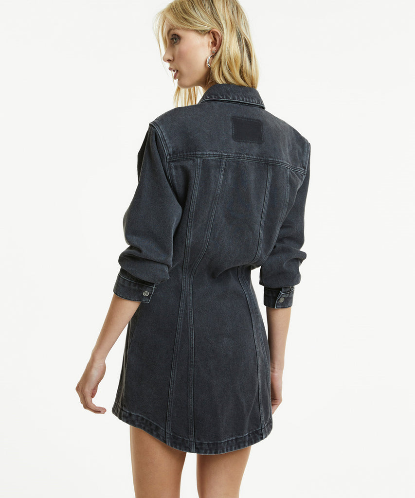 Ksubi - Snap Dress - Dusted Black