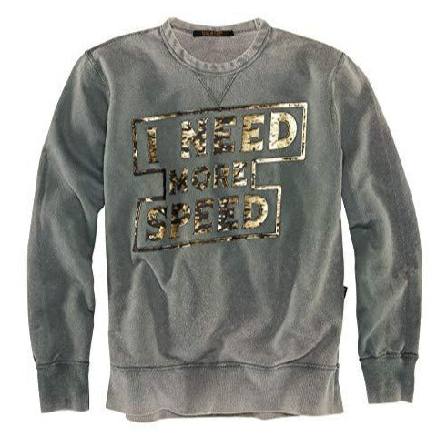 Rude Riders - Need More Speed Sweatshirt - Road Black