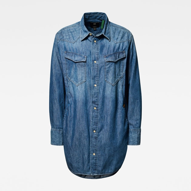 G-Star Raw - Tacoma Boyfriend Shirt - Faded Shore