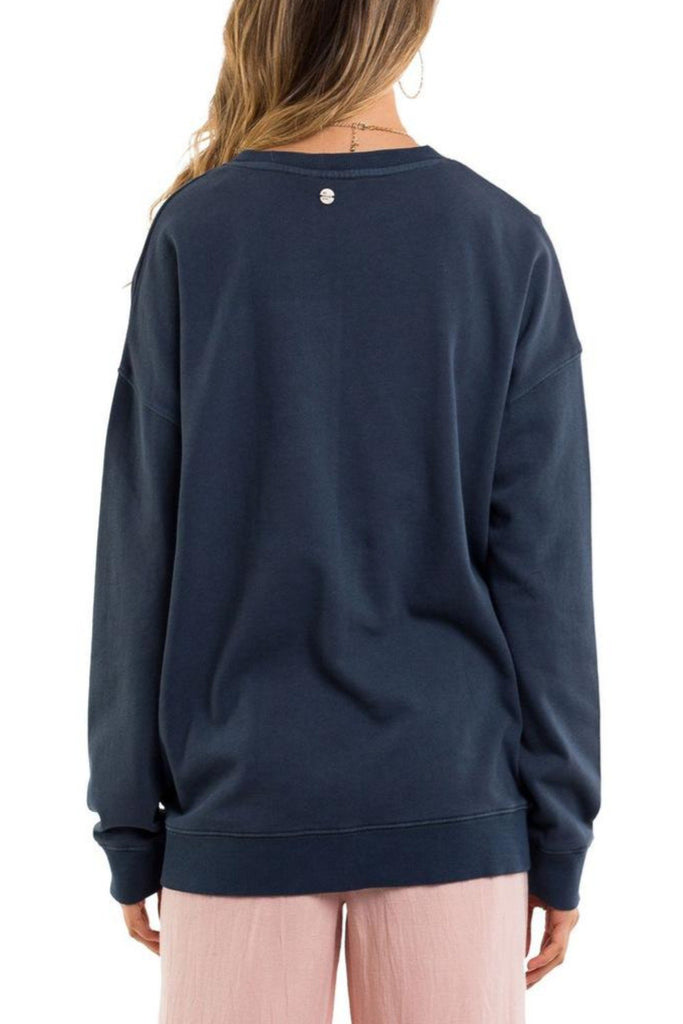 All About Eve - Re-Invent Oversized Fleece - Navy