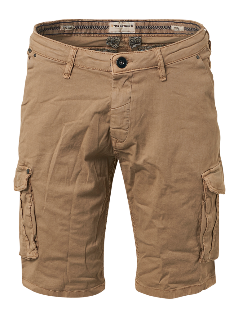 No Excess - Cargo Shorts - Khaki
