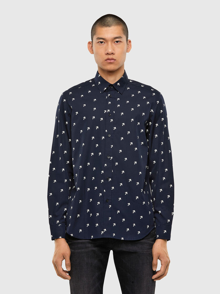 Diesel - S-Riley Dart Shirt - Navy