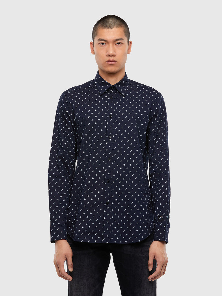 Diesel - S-Riley ANC-KA Shirt - Navy