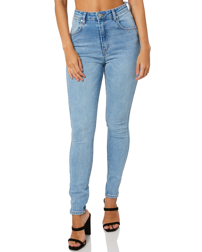 Wrangler - Hi Pins Cropped Jean - Choir Girl Blue