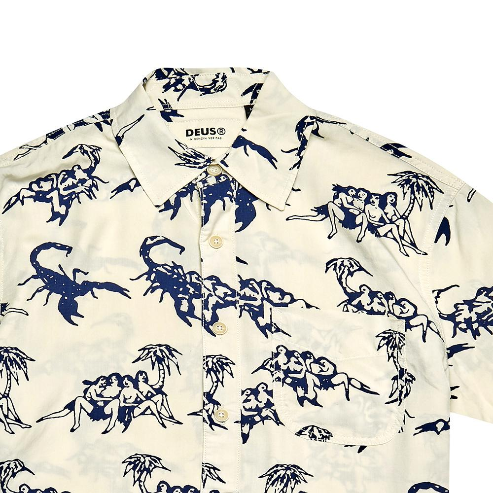 Deus - Ralph Soso Shirt - White / Blue