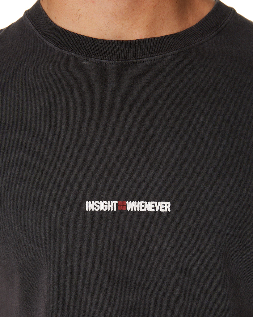 Insight - Whenever SS Tee - Dusty Black
