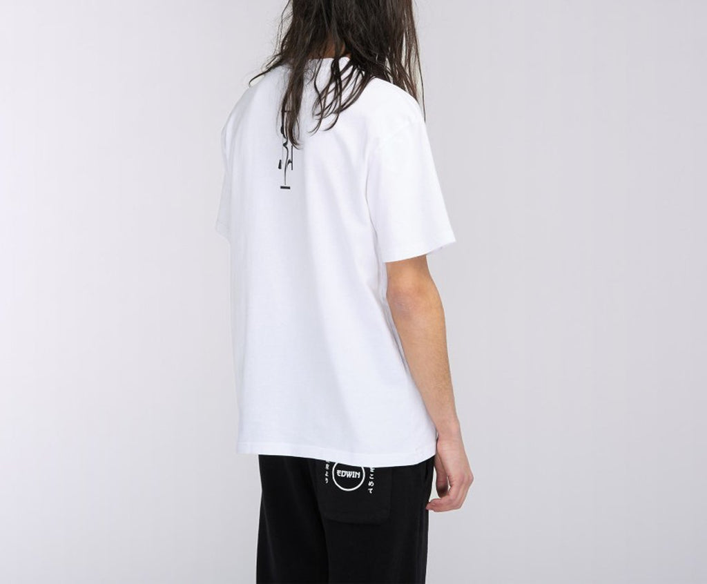 Edwin - The FFFloating Land T-Shirt - White Garment Wash