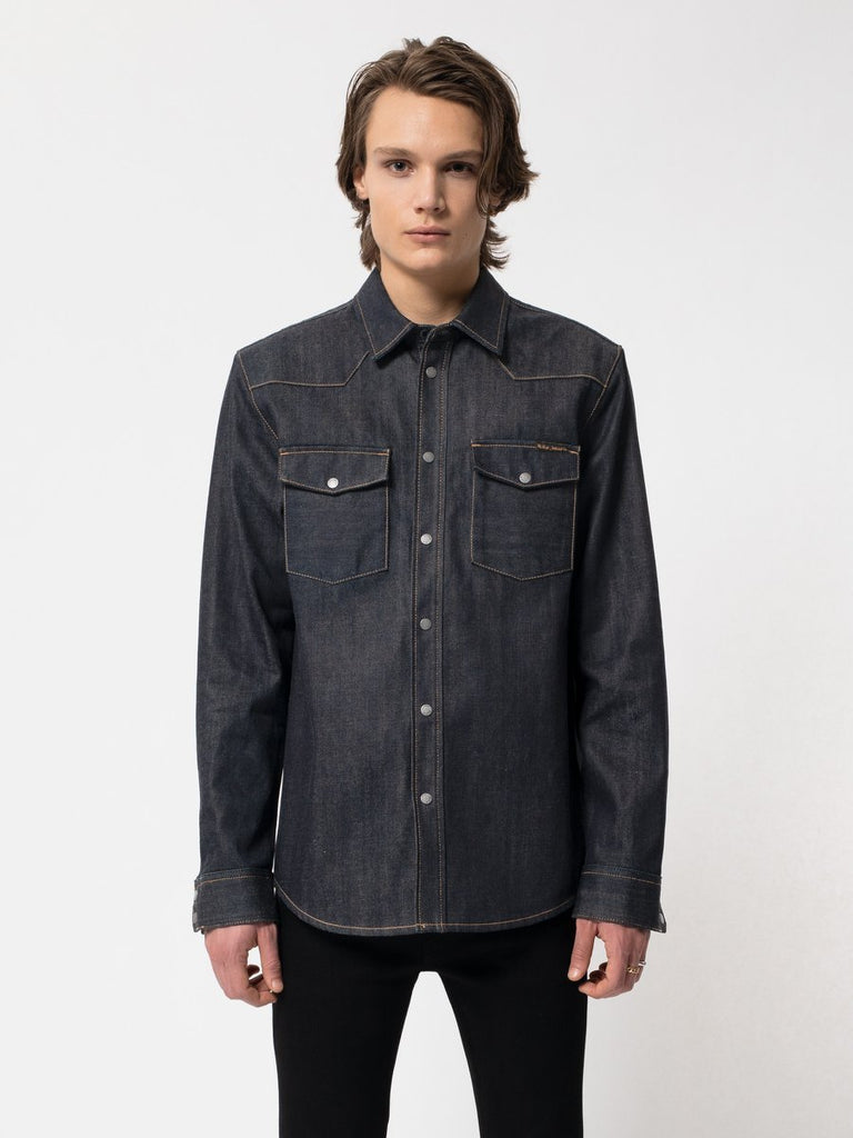 Nudie - George Jacket - Dry Deep Selvage