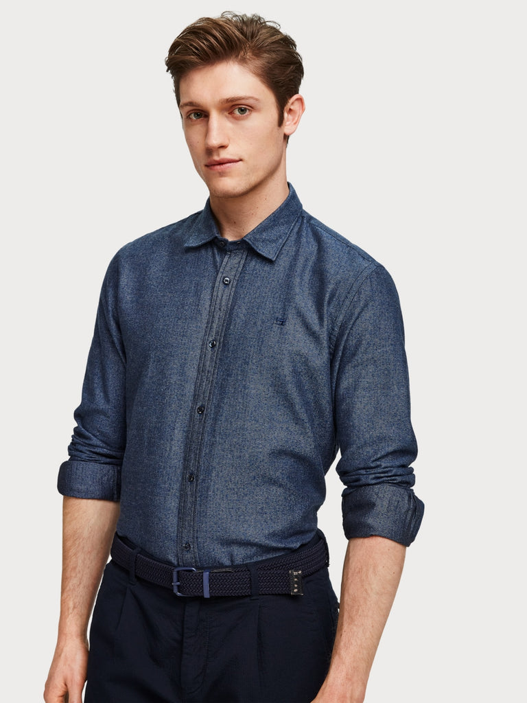 Scotch & Soda - Structured Shirt - Indigo