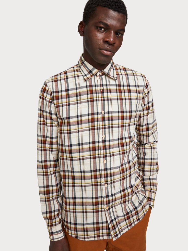 Scotch & Soda - Regular Fit LS Shirt - Retro Stripe