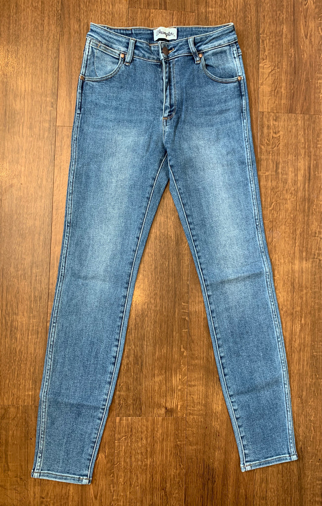 Wrangler - Mid Pins Cropped Jean - Paradise Vintage