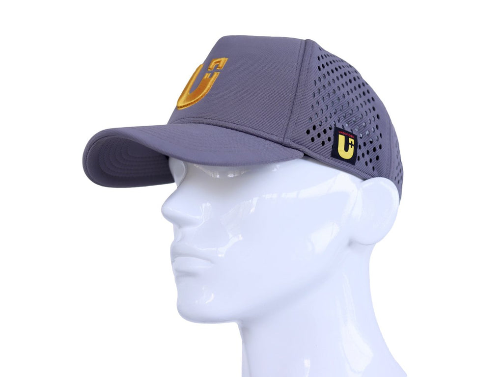 Undivided - Flow Baseball Cap - Grey/Yellow