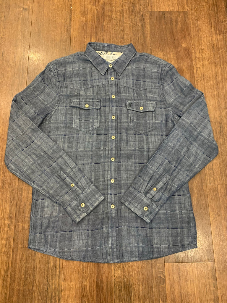 Pearly King - Alabaster Shirt - Blue